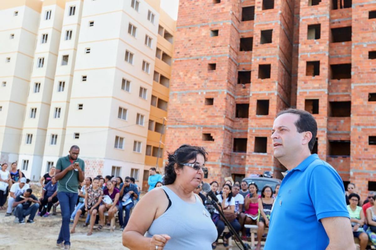 VISITA AS OBRAS DO CONJUNTO RESIDENCIAL GETÚLIO ALVES BARBOSA - ARACAJU
