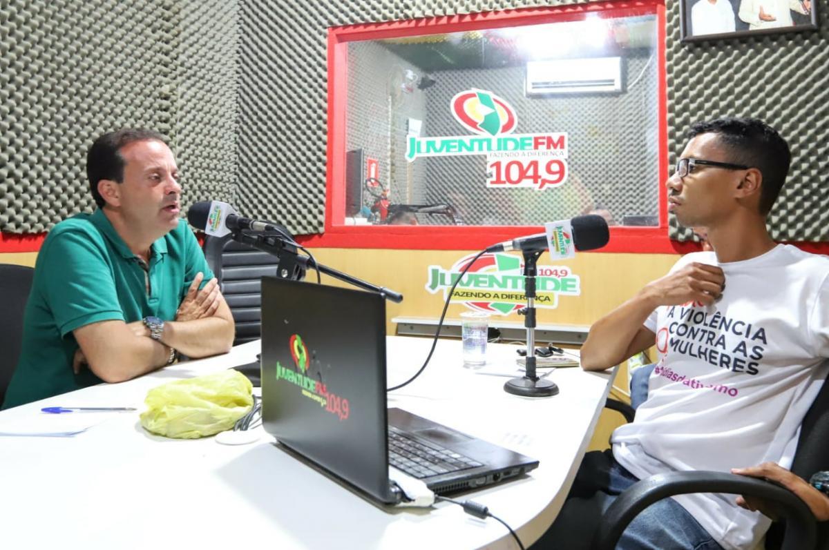 ENTREVISTA NA RÁDIO JUVENTUDE FM – LAGARTO