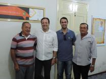 o deputado federal André Moura (PSC/SE) entregou duas caçambas e um trator, para o município de Umbaúba.